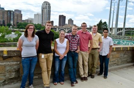 Summer Transportation Internship Program participants tour transportation-related facilities at the U of M