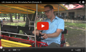 UM, Access to Fun: Minnehaha Falls [Episode 3]