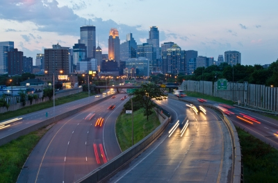 Evening Skyline, Minneapolis