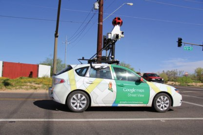 Google is one of many companies developing self-driving vehicles.