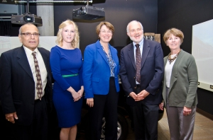 Klobuchar distracted driving event