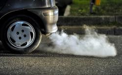 Car emissions photo