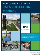 Bicycle and Pedestrian Data Collection Manual cover